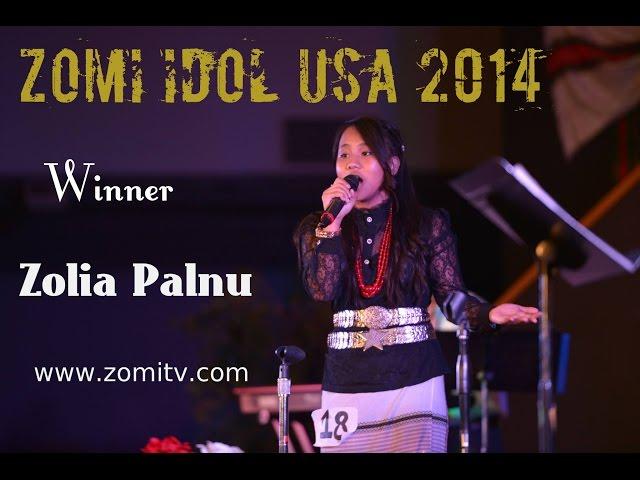Zomi Idol USA 2014 (Zolia Palnu)