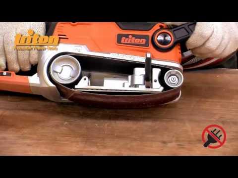 TRITON INSTRUCTIONAL: TA1200BS Belt Sander 76mm