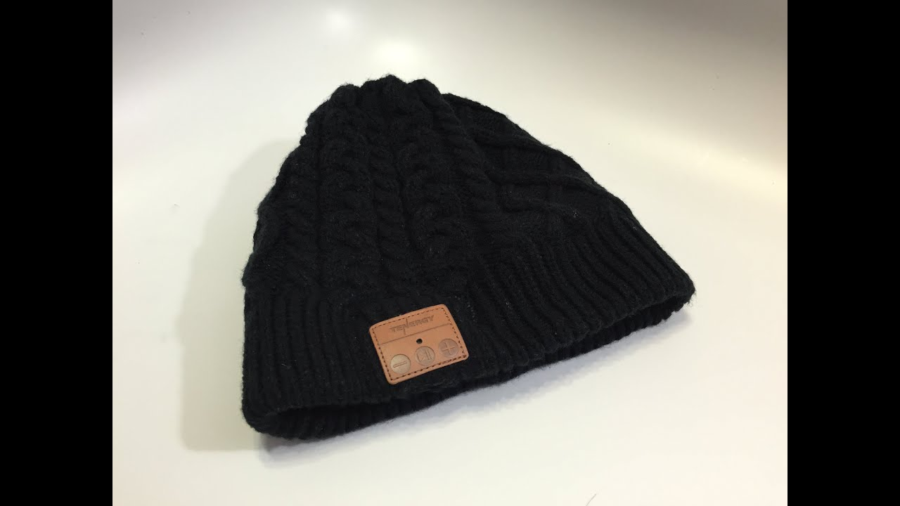 e6d467b900704 Tenergy Bluetooth Beanie w  Cable Knit - YouTube