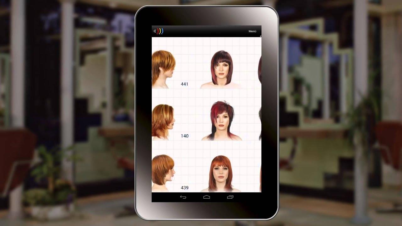 Hair Concept Program Do Projektowania Fryzur Wersja Tabletowa Z Foto Klienta