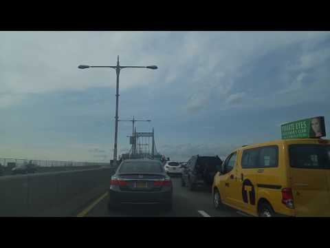 Driving from Woodside in Queens to Port Morris inThe Bronx,New York