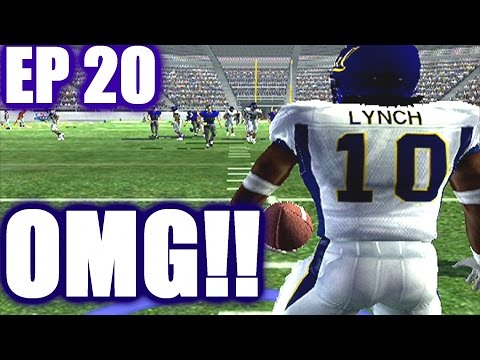 OMG! NCAA Football 06 ATU Dynasty ep20 vs Marshawn lynch & CAL