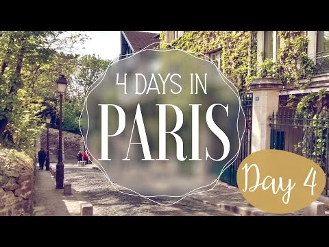 Paris in 4 days! Day 4: Montmartre, Funiculaire & Sacre-Coeur
