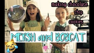 MERSH and BOBCAT | ep.1| chocolate chip cookies
