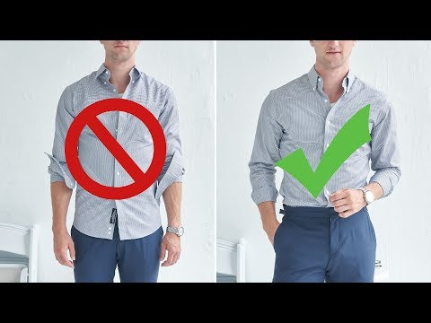 12 Easy Ways to Look Better In A Dress Shirt | Men's Style Tips