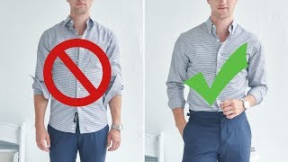 12 Easy Ways to Look Better In A Dress Shirt | Men