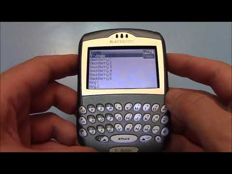 Vintage Blackberry 7290 Cell Phone Review