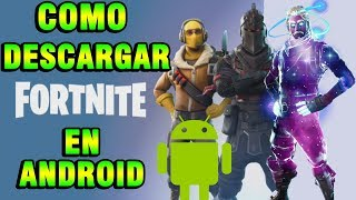 HOW TO DOWNLOAD FORTNITE FOR ANDROID FREE & EASY ? tutorial
