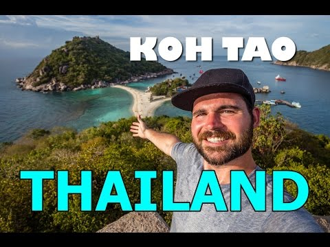 THE MOST BEAUTIFUL PLACE IN THAILAND - Koh Nang Yuan, Koh Tao, Thailand