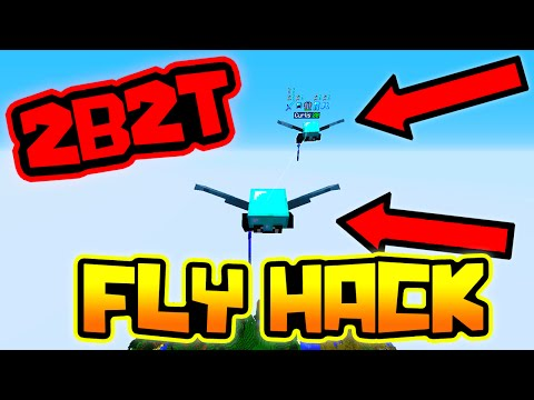 UNLIMITED ELYTRA FLY HACK IN MINECRAFT 2B2T!!