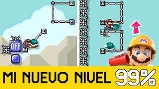 MI NUEVO NIVEL 99% IMPOSIBLE (ID: 9RH-3F4-9XF) - Super Mario Maker 2 - ZetaSSJ