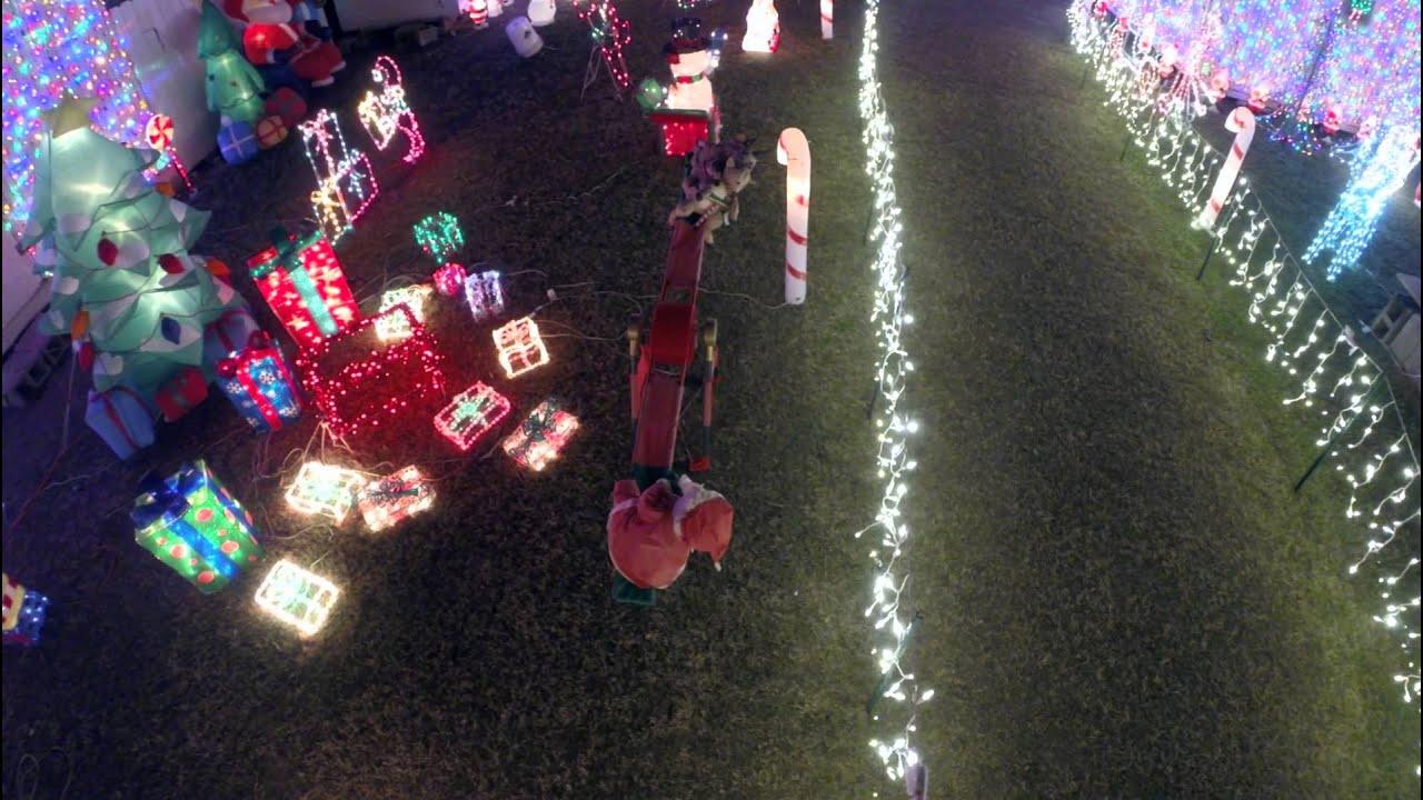 Tripp Family Christmas Lights 2014 Yonkers Ga Dji