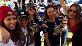 Los Angeles Rams Vs. San Francisco Tailgate Party 2018