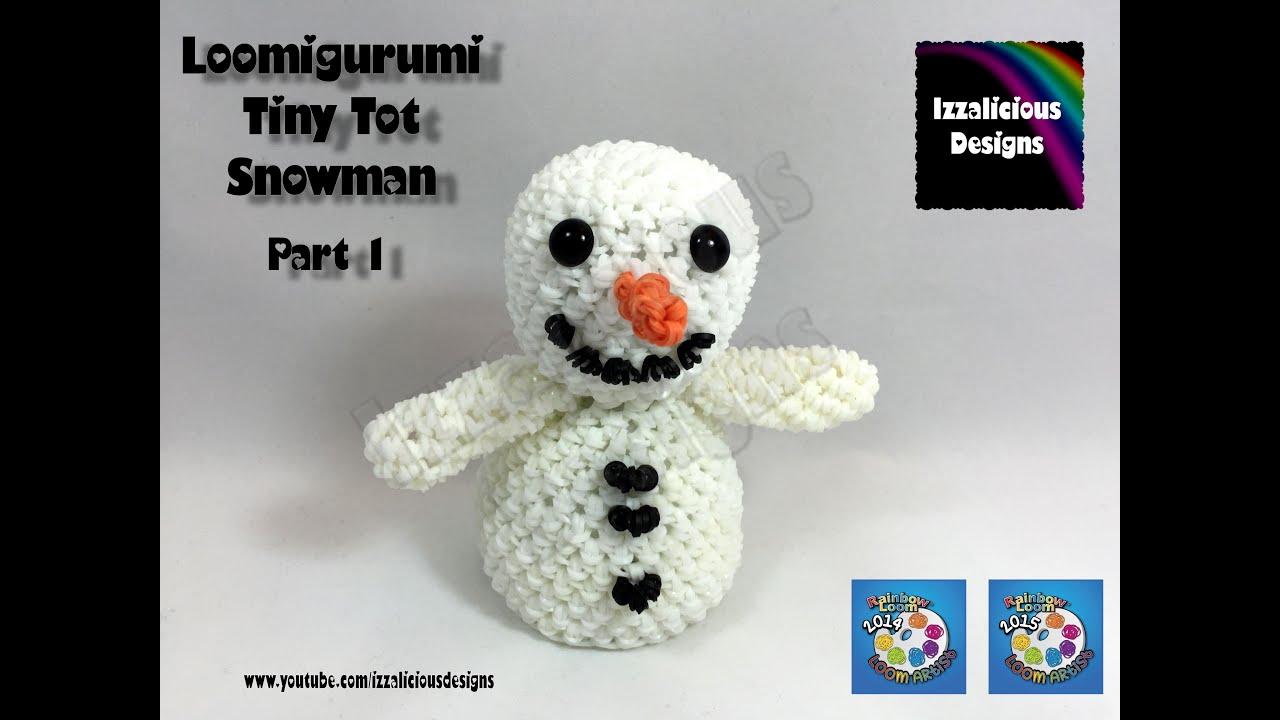 Amigurumi Snowman : Loomigurumi snowman pt tiny tot christmas figure amigurumi w