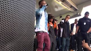Shy Glizzy performance @ Howard homecoming 2012 (chief Keef)