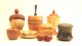 Woodturning Box Design
