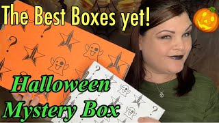 ✨NEW✨ Jeffree Star ⭐️ Halloween Mystery Deluxe & Premium Box Unboxing & Swatches
