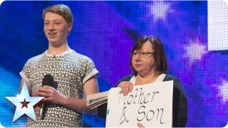 Shirley & James singing 'You Are Not Alone' - Week 3 Auditions | Britain's Got Talent 2013
