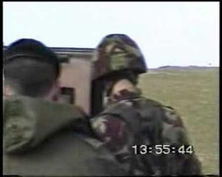 Lance missile firing Hebrides