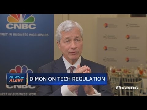 Jamie Dimon: Tech CEOs should gear up for 'broad-based' attacks