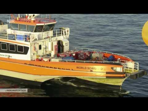 Die Nordreportage: Umzug aufs Meer   Wohnplattform DanTysk [GER]