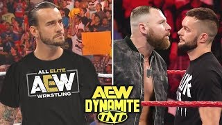 10 Big Surprises Rumored for AEW Dynamite on TNT Debut Episode - CM Punk & Finn Balor Join AEW