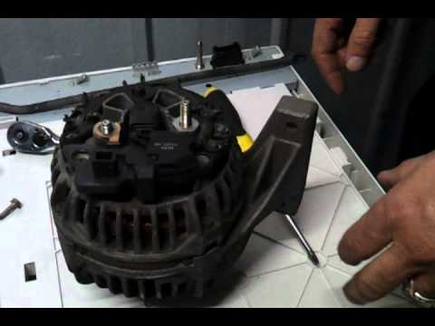 How to repair Volvo Alternator regulator 1999-2004