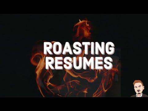 Roasting Resumes