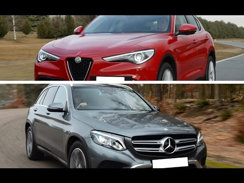 2017 alfa romeo stelvio 2 2 diesel vs 2017 mercedes benz for Alfa romeo vs mercedes benz