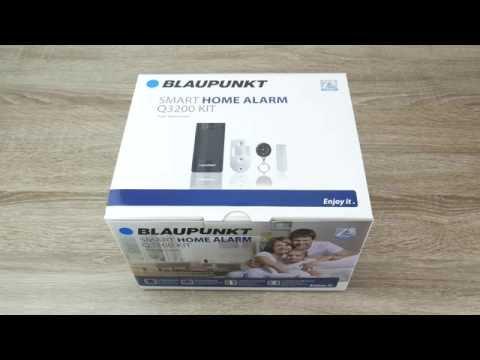 Blaupunkt Q-Serie Smart Home Alarmanlage Einrichten (Q3200 Und Q3000)