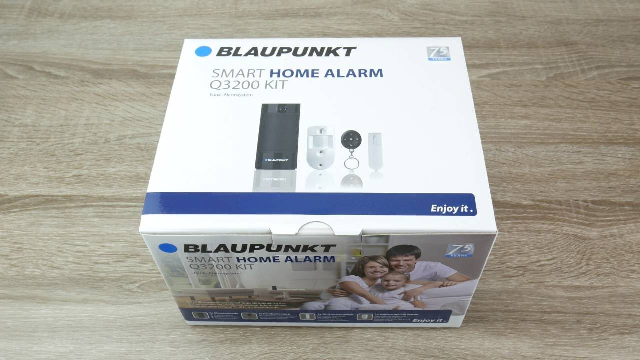 blaupunkt q serie smart home alarmanlage einrichten q3200. Black Bedroom Furniture Sets. Home Design Ideas
