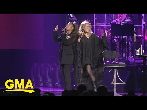 Crystal Rosas - Ariana Grande Performs Duets With Barbra Streisand