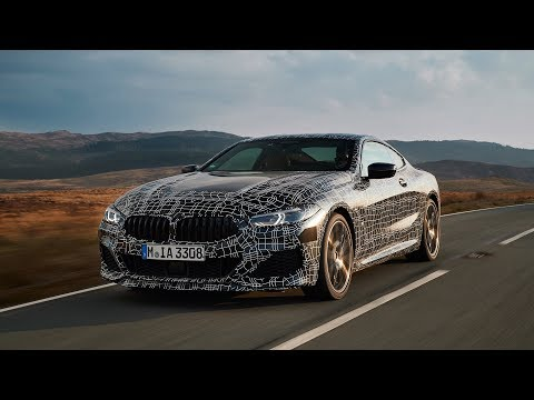 The New BMW 8 Series On Welsh Roads