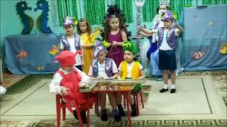 Новый год 2021 группа 7 детский сад 37 города Курска