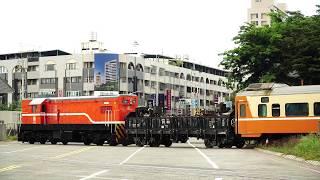 2018.09.06 貨物列車7221次編組進入高雄機廠