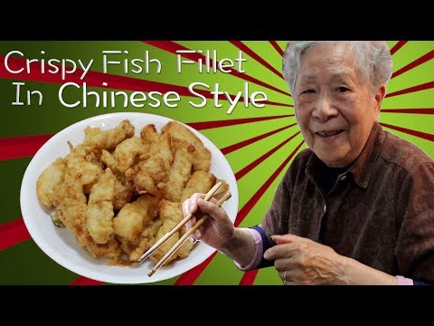 Hong Kong Recipe : Crispy  Fish Fillet In Chinese Style