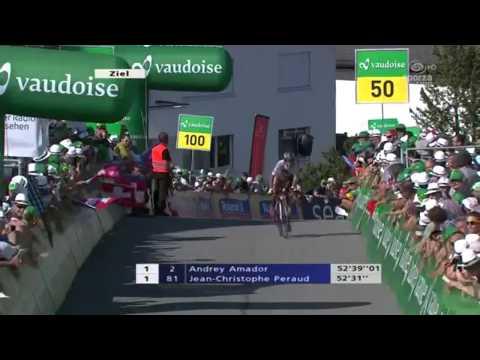 Rui Costa Wins Stage 9 (TT) At Tour De Suisse 2013 HD