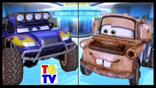 Disney Pixar Cars Blue Grit Tow Mater | Cars Fast as Lightning