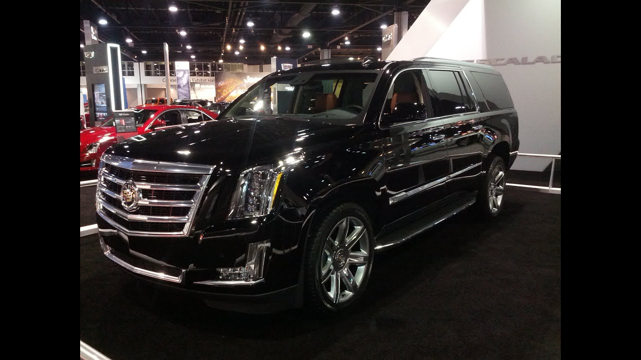 2015 Cadillac Escalade Overview - YouTube