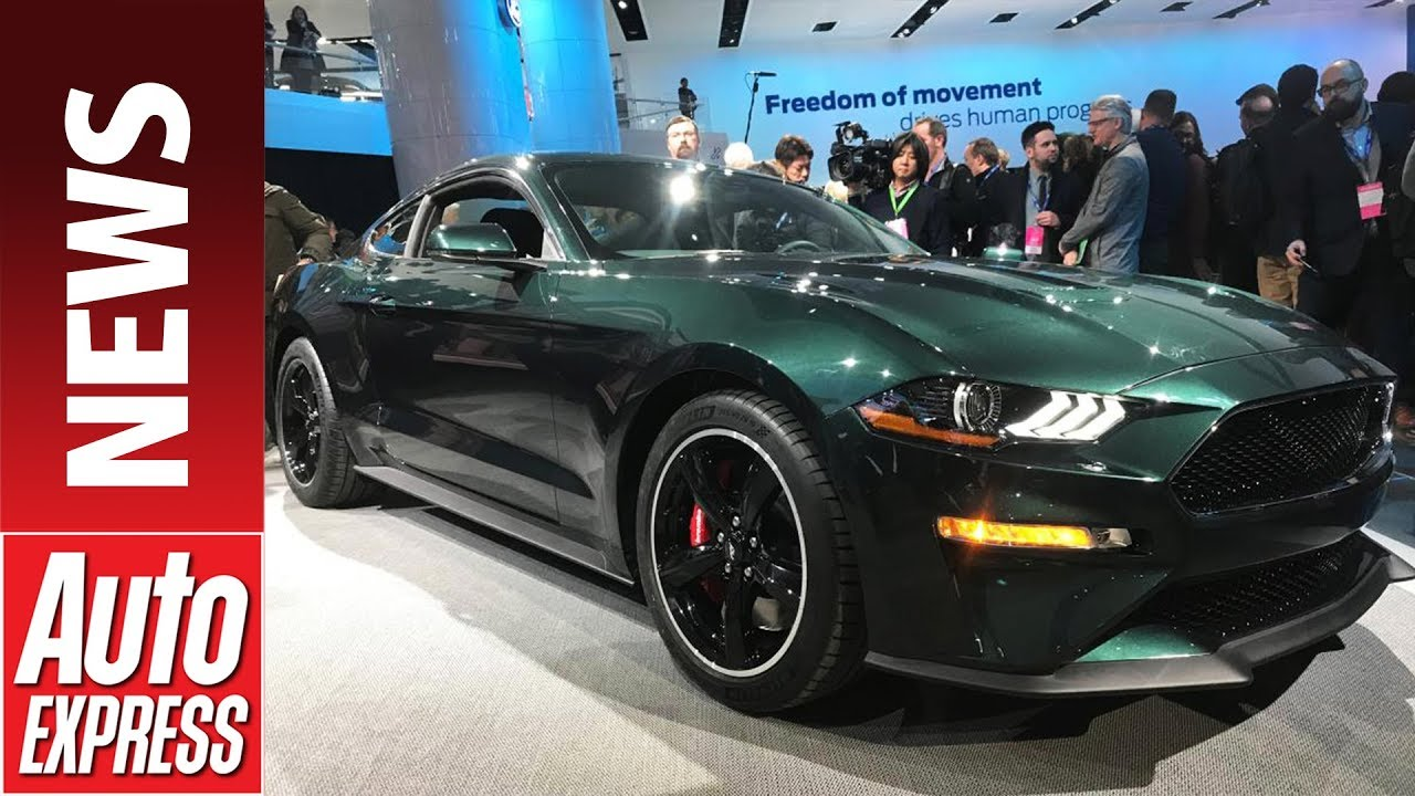 Ford Bullitt Mustang GT celebrates 50th anniversary of Steve McQueen blockbuster - Dauer: 74 Sekunden