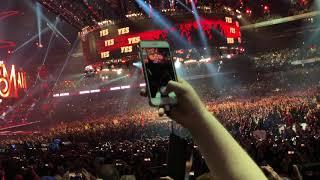 Daniel Bryan Wrestlemania 34 entrance - live reaction