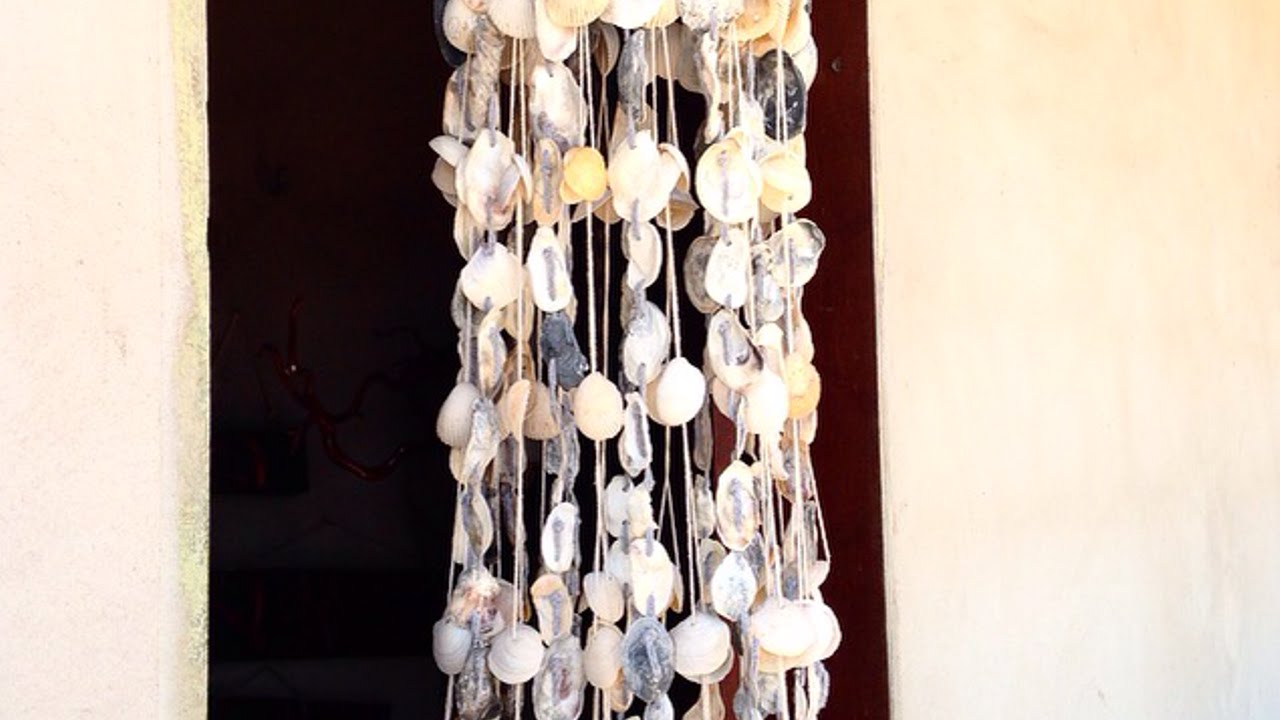 How To Make A Wind Chime How To Make A Wind Chime Of Oesters And Sea Shells Diy Home