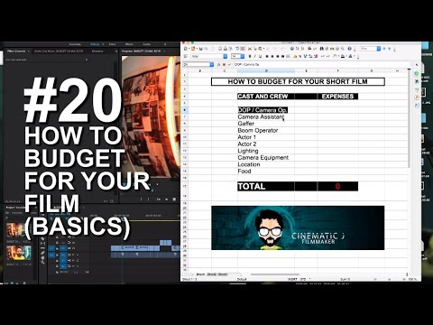 How to budget for your film (basic)