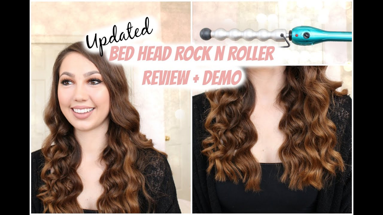 UPDATED Bed Head Rock N Roller Bubble Curling Iron Wand