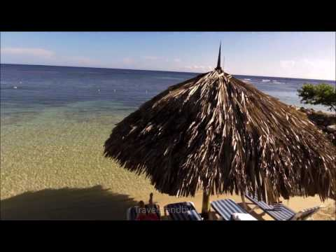 Jamaica Beach resort, walking review (Holiday Inn Resort Montego Bay, Jamaica)