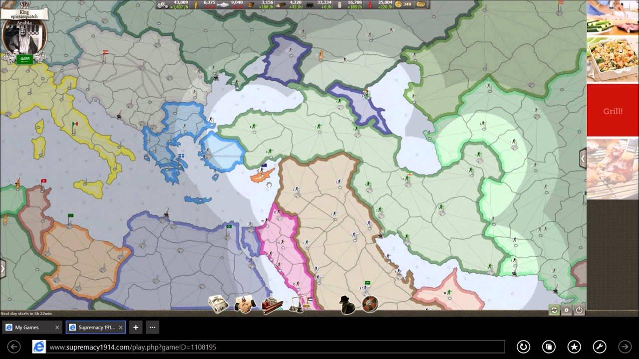 supremacy 1914 джекпот