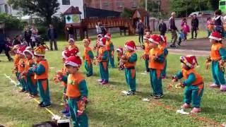 希望城堡105學年聖誕表演—綿羊班/聖誕PARTY