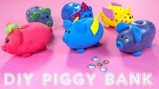 DIY Miniature Doll Piggy Banks