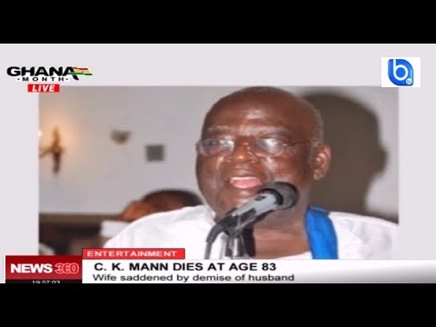 Ghanaian highlife legend C.K MANN dies at 83