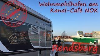Leni & Toni CHECK | Wohnmobilhafen am Kanal-Café NOK | | Osterrönfeld | NORD-OSTSEE-KANAL |